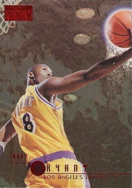 1996 Skybox Premium Rubies #55 Kobe Bryant Basketball Card