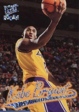 1996 Ultra Platinum Medallion #P52 Kobe Bryant Basketball Card