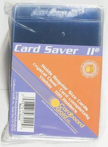 Card Saver 2 Baseball Card Sleeves