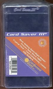 Card Saver 3 Baseball Card Sleeves