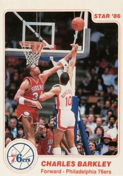 1985-1986 Star #2 Charles Barkley Basketball Card