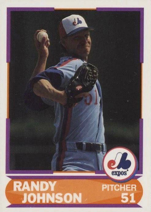 1989 Score Young Superstars Series 2 #32 Randy Johnson Rookie Card