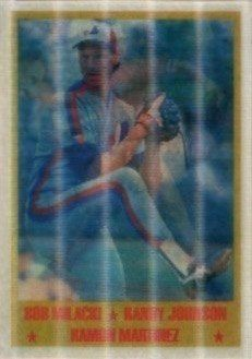 1989 Sportflics #224 Randy Johnson Rookie Card