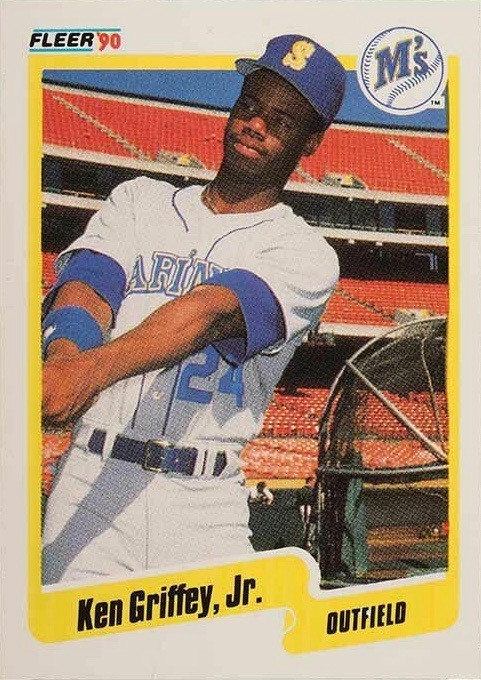 1990 Fleer #513 Ken Griffey Jr. Baseball Card