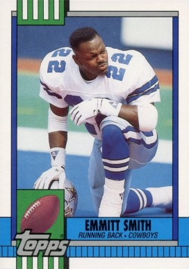 1990 Topps Traded #27T Emmitt Smith Rookie Card