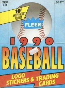 Unopened Box of 1990 Fleer Baseball Cards