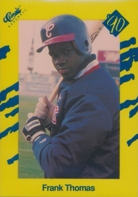 1990 Classic Series III #93 Frank Thomas Rookie Card