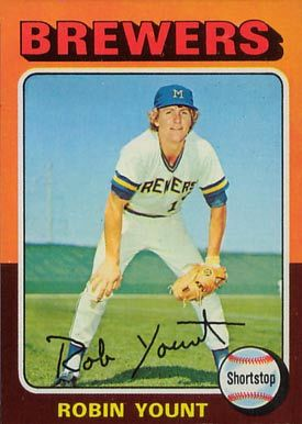 1975 Topps #223 Robin Yount Rookie Card