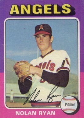 1975 Topps #500 Nolan Ryan Baseball Card