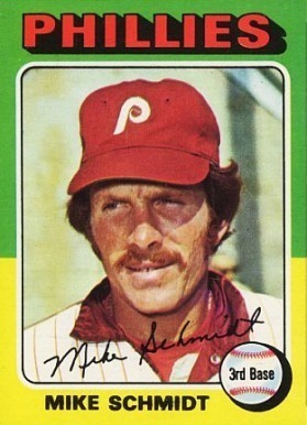 1975 Topps #70 Mike Schmidt Baseball Card