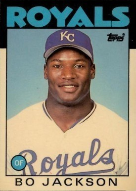 1986 Topps Traded Tiffany #50T Bo Jackson Baseball Card