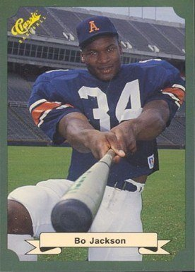 1987 Classic Game #15 Bo Jackson Baseball Card