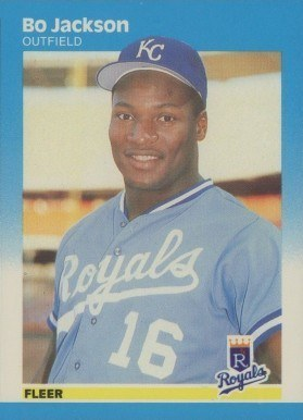 1987 Fleer Glossy #369 Bo Jackson Baseball Card