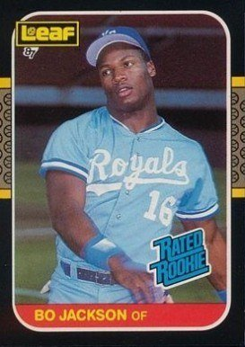 1987 Leaf #35 Bo Jackson Baseball Card