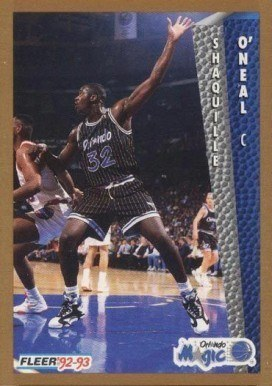 1992 Fleer #401 Shaquille O'Neal Rookie Card