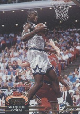 1992 Stadium Club #247 Shaq O'Neal Basketball Card