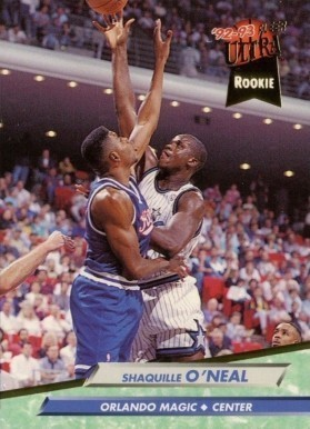 1992 Ultra #328 Shaq Rookie Card