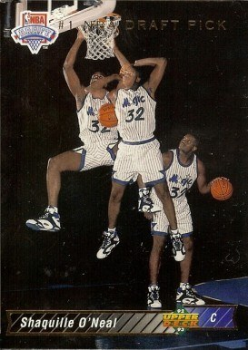 1992 Upper Deck #1 Shaq Rookie Card
