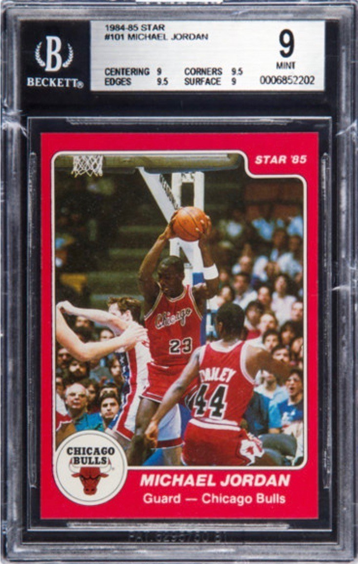 23 Most Expensive Michael Jordan Cards Ever Sold Old