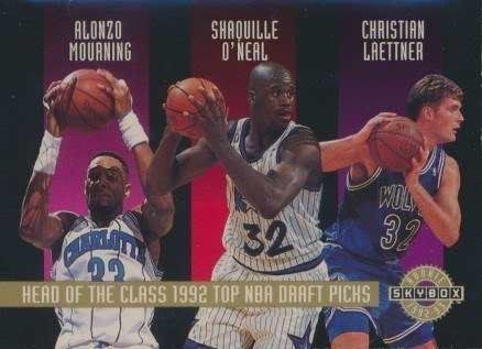 1992 SkyBox Head of the Class Shaq Basketball Card