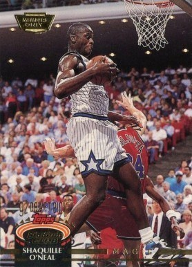 1992 Stadium Club Members Only #247 Shaq O'Neal Basketball Card