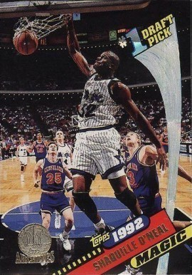 1992 Topps Archives #150 Shaq Rookie Card