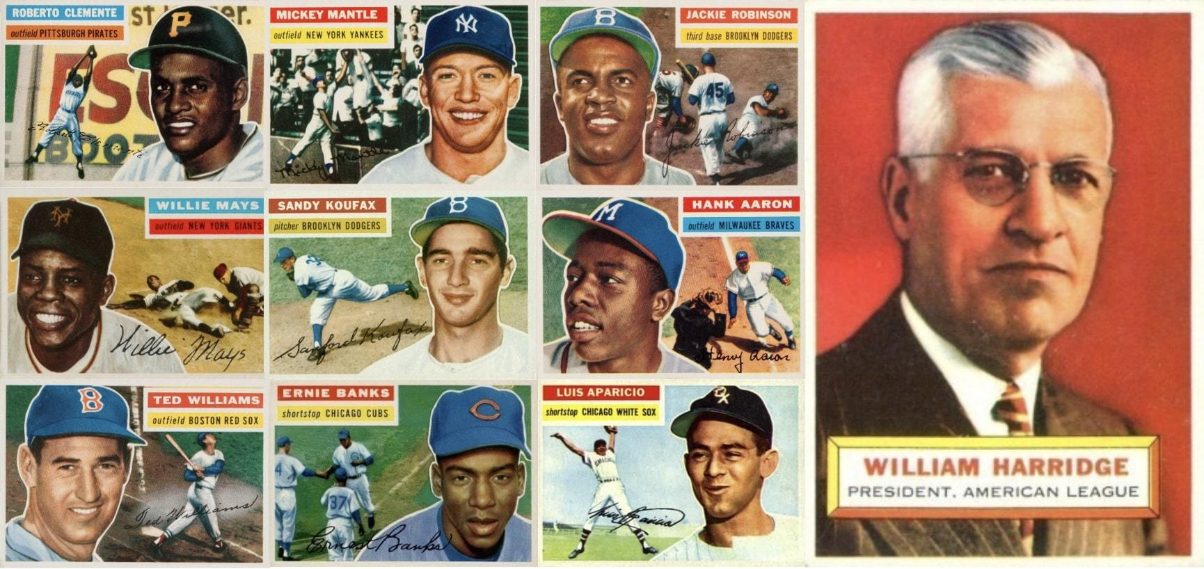 10 Most Valuable 1956 Topps Baseball Cards