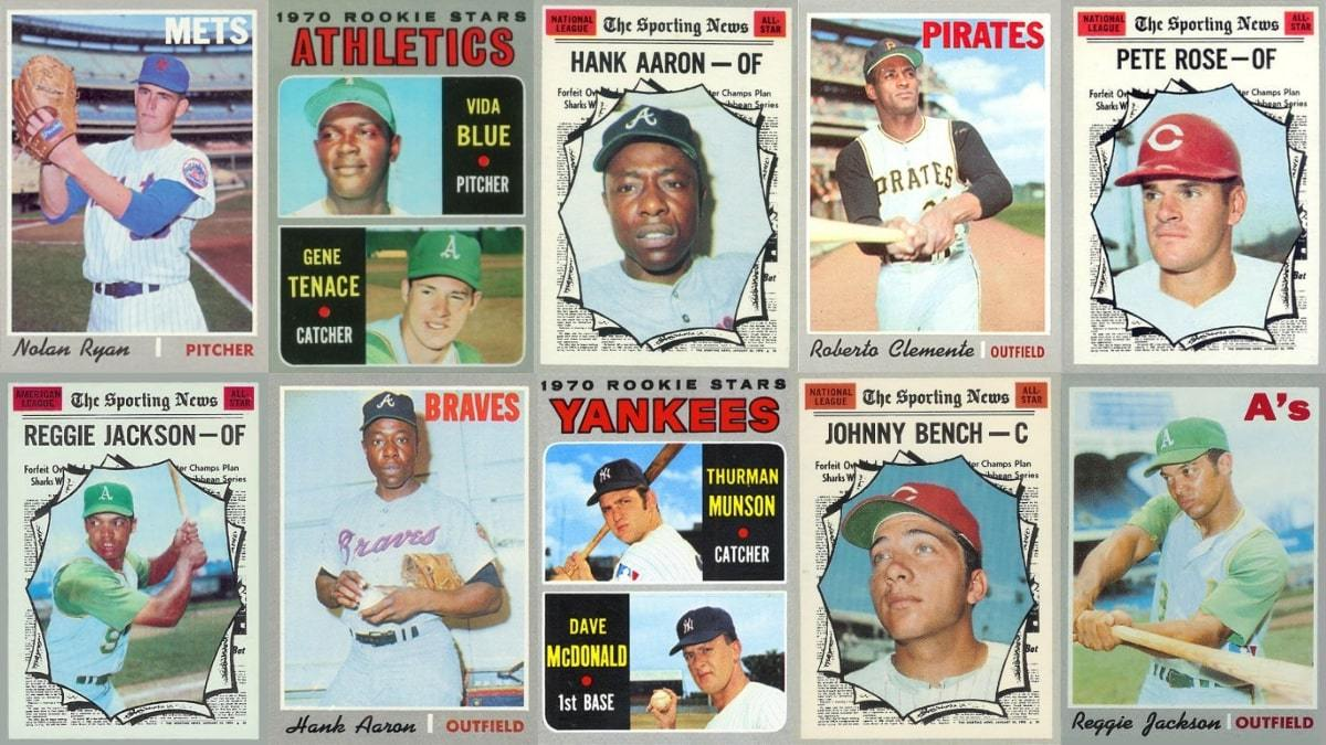 10 Most Valuable 1970 Topps Baseball Cards