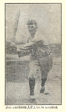 1915 W-UNC Strip Cards #4 Joe Jackson Baseball Card