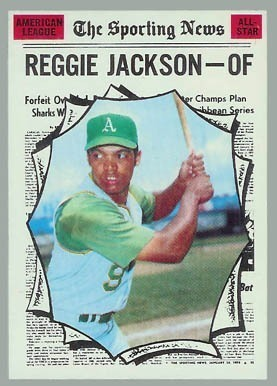 1970 Topps #459 Reggie Jackson All-Star Baseball Card