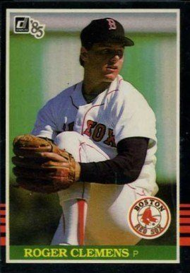 1985 Donruss #273 Roger Clemens Baseball Card