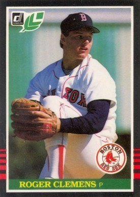 1985 Leaf #99 Roger Clemens Baseball Card