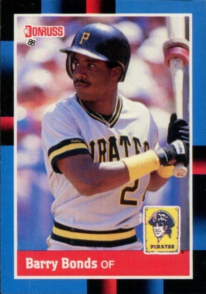 1988 Donruss #326 Barry Bonds Baseball Card