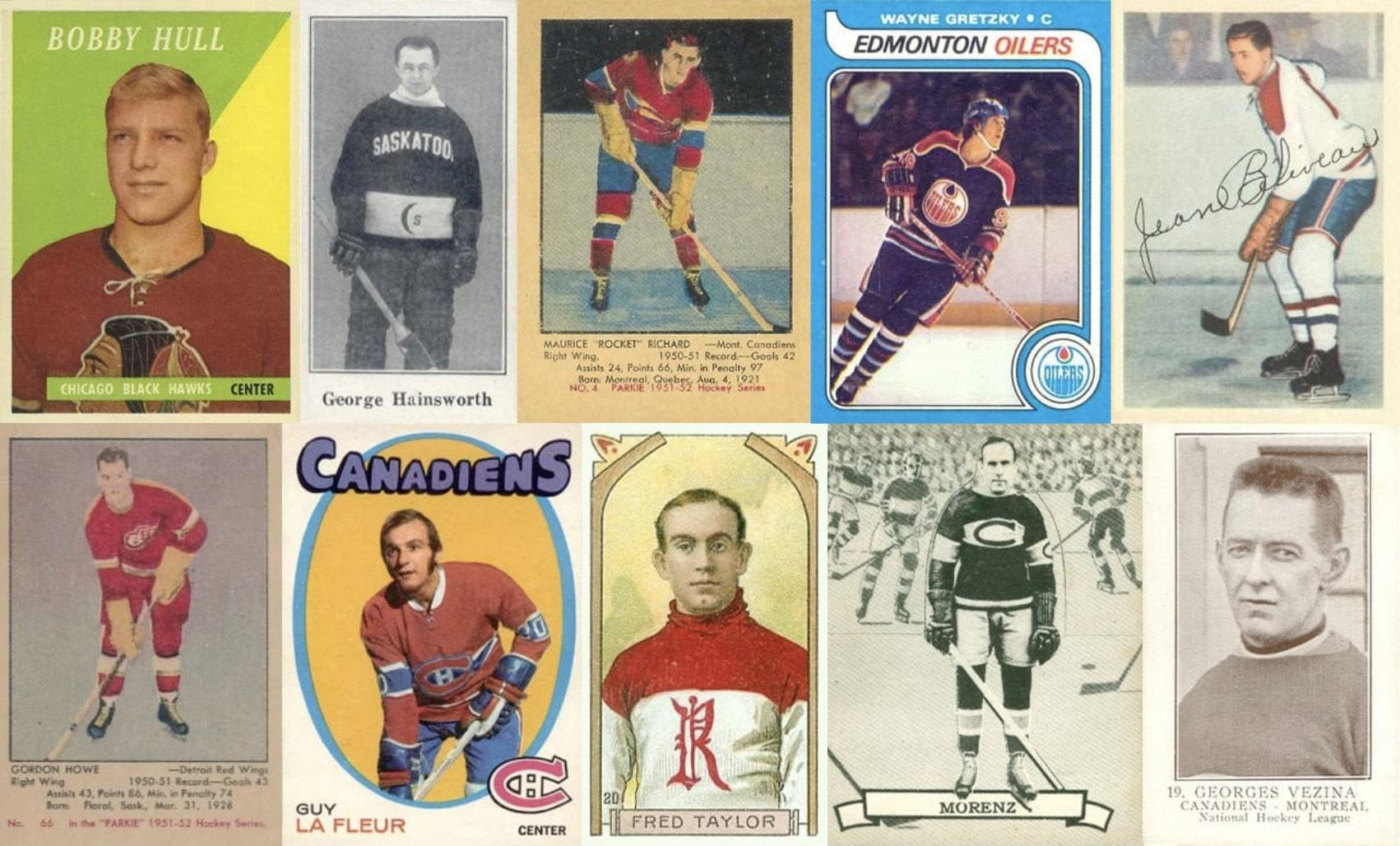 45 Most Valuable Hockey Cards The All Time Dream List Old Sports Cards