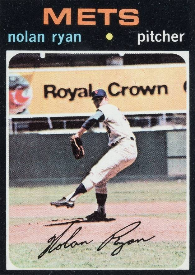 1971 Topps #513 Nolan Ryan Baseball Card