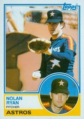 1983 Topps #360 Nolan Ryan Baseball Card