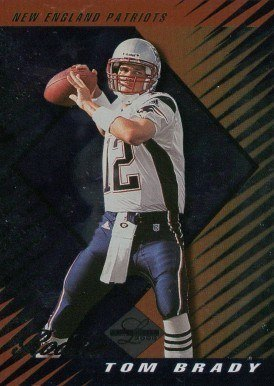 2000 Leaf Limited #378 Tom Brady Rookie Card