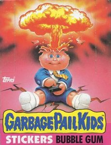 Original Box of 1985 Series 1 Garbage Pail Kids Cards