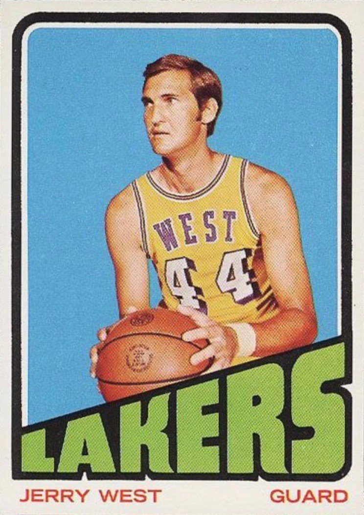 1972 Topps #75 Jerry West Basketball Card