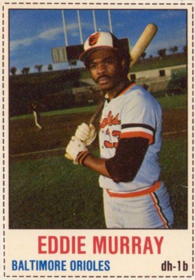 1978 Hostess #31 Eddie Murray Baseball Card Rookie