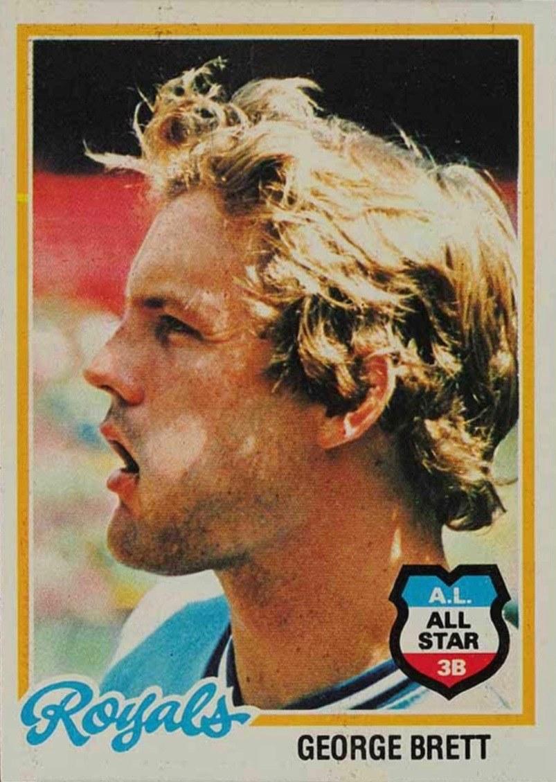 1978 Topps #100 George Brett Baseball Card