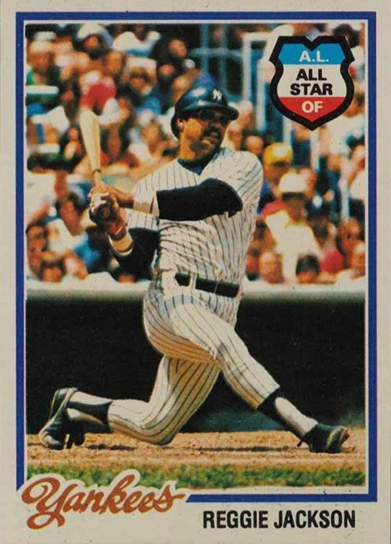1978 Topps #200 Reggie Jackson Baseball Card
