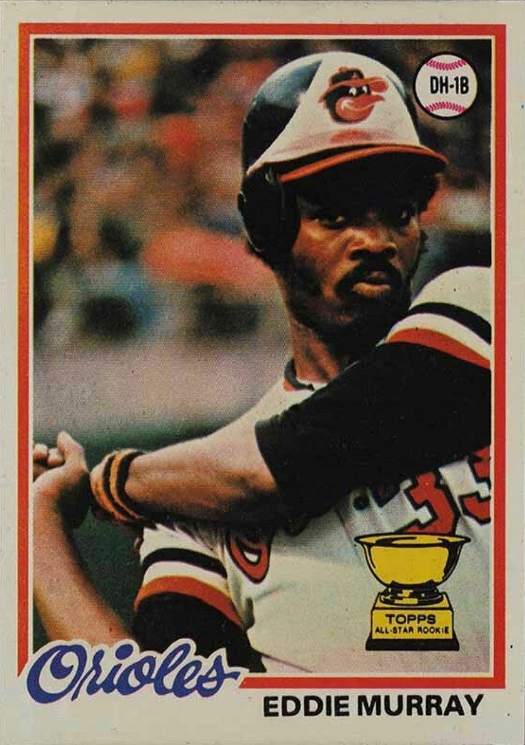 1978 Topps #36 Eddie Murray Rookie Card