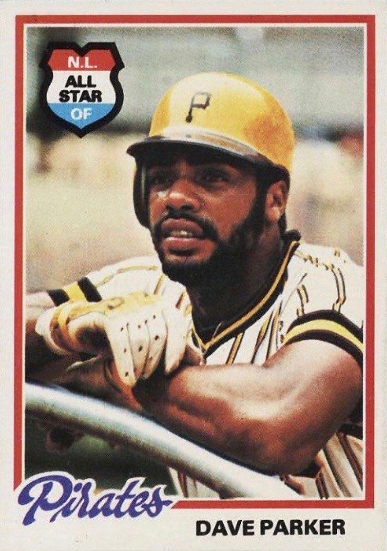 1978 Topps #560 Dave Parker Baseball Card