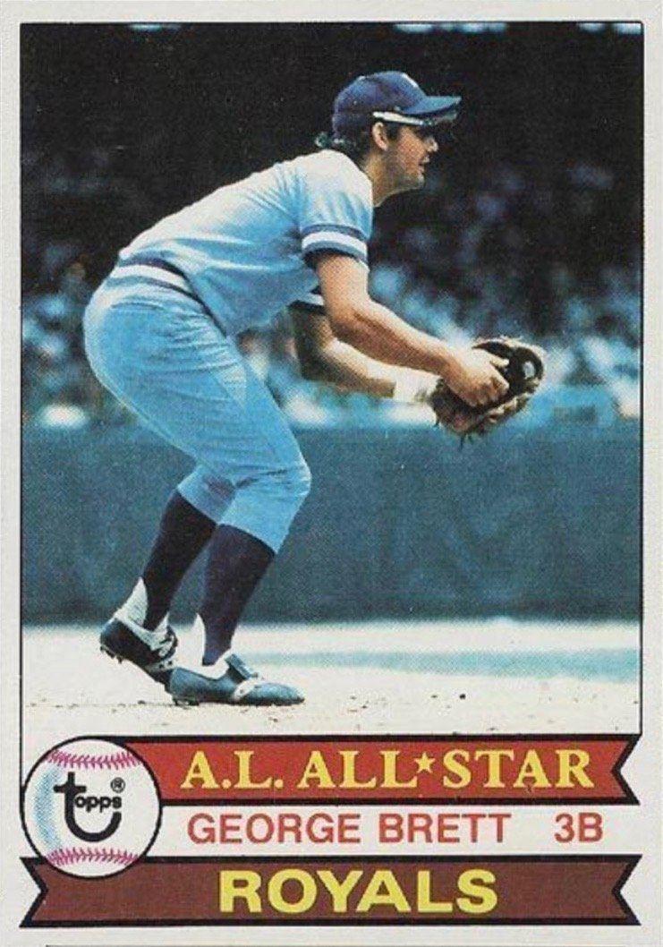 1979 Topps #330 George Brett Baseball Card