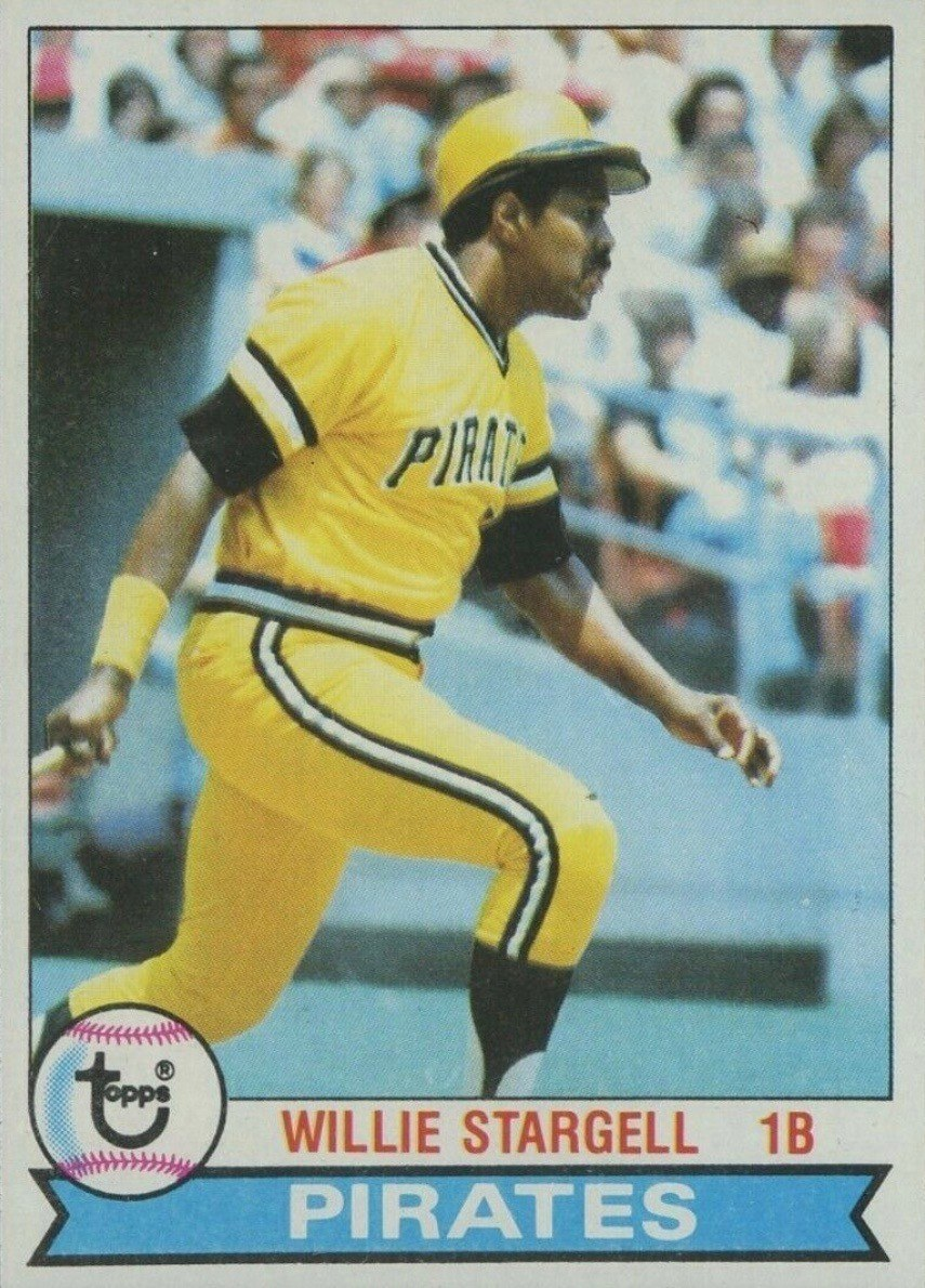 1979 Topps #55 Willie Stargell Baseball Card