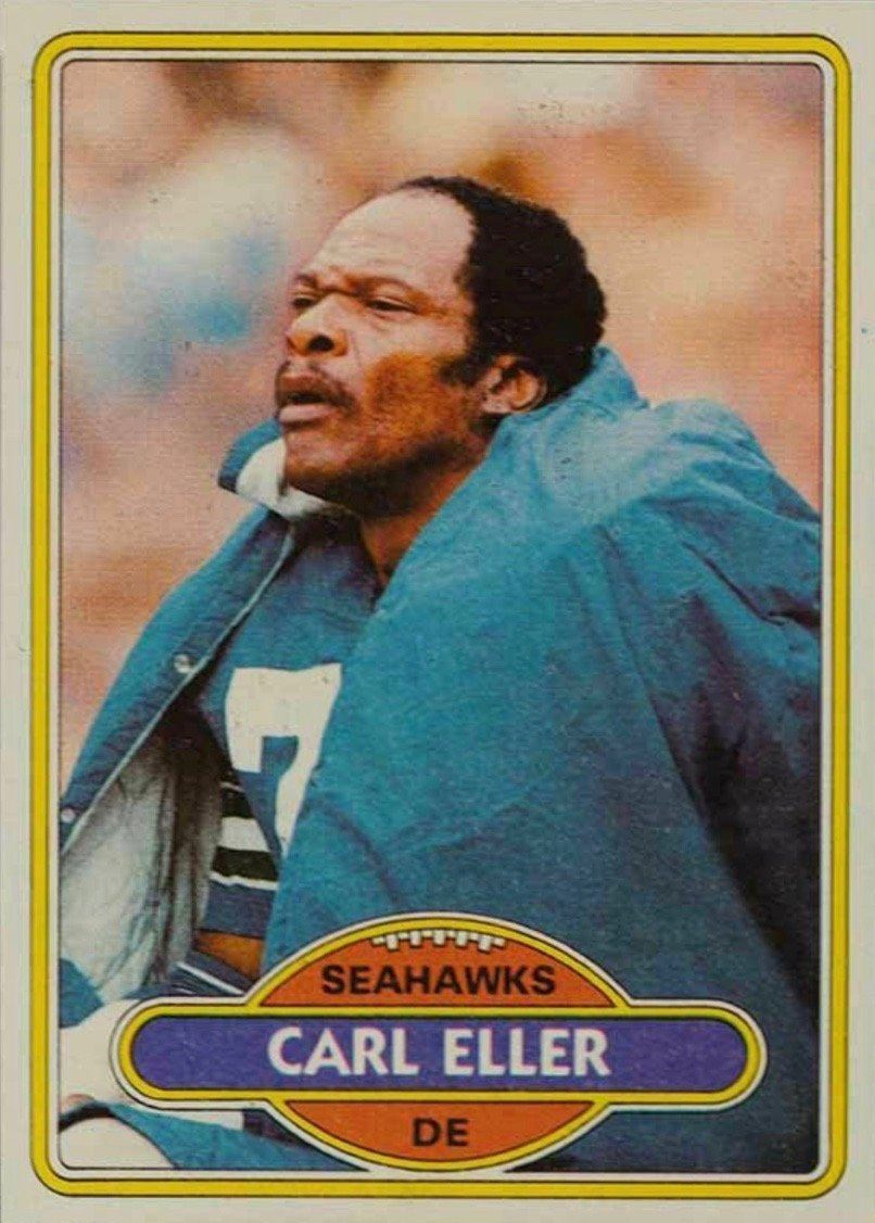 1980 Topps #189 Carl Eller Football Card