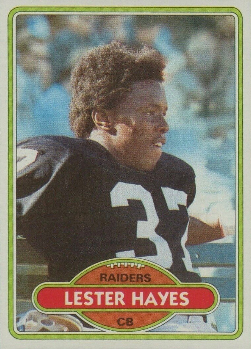 1980 Topps #195 Lester Hayes Rookie Card