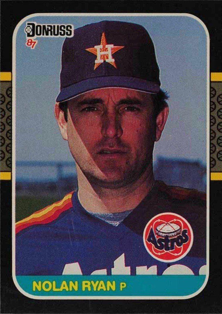 1987 Donruss #138 Nolan Ryan Baseball Card