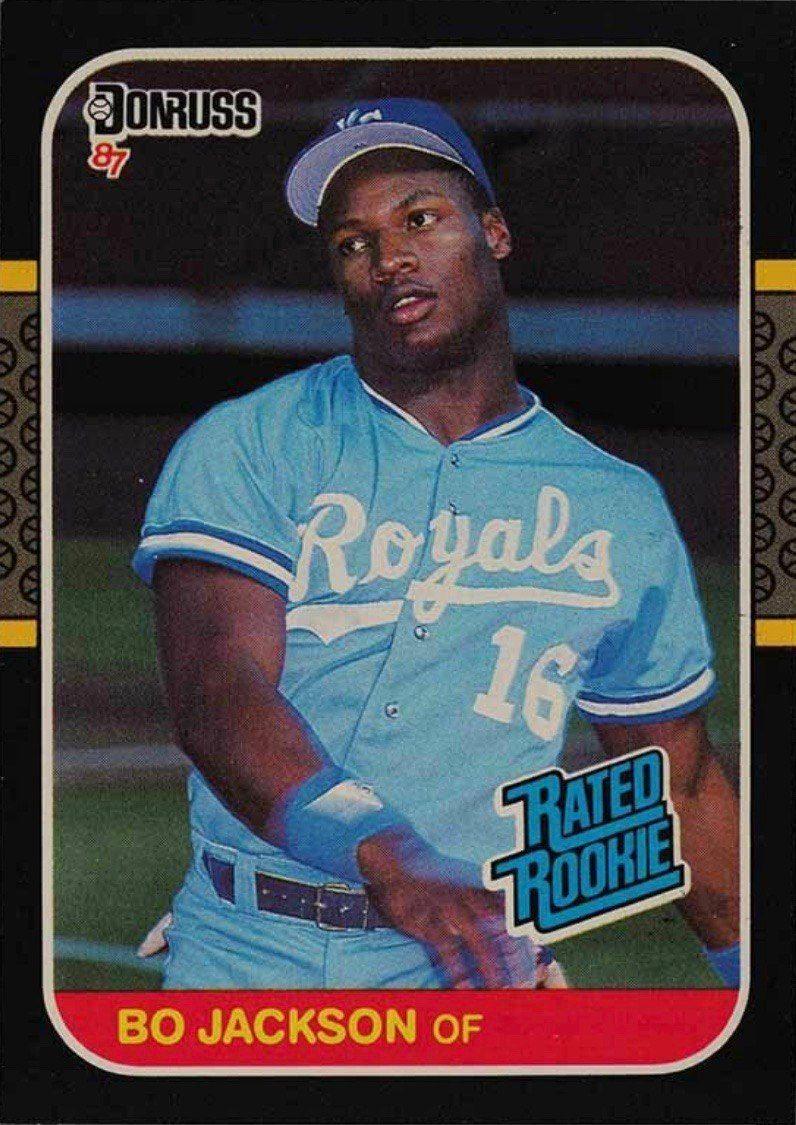 1987 Donruss #35 Bo Jackson Rookie Card